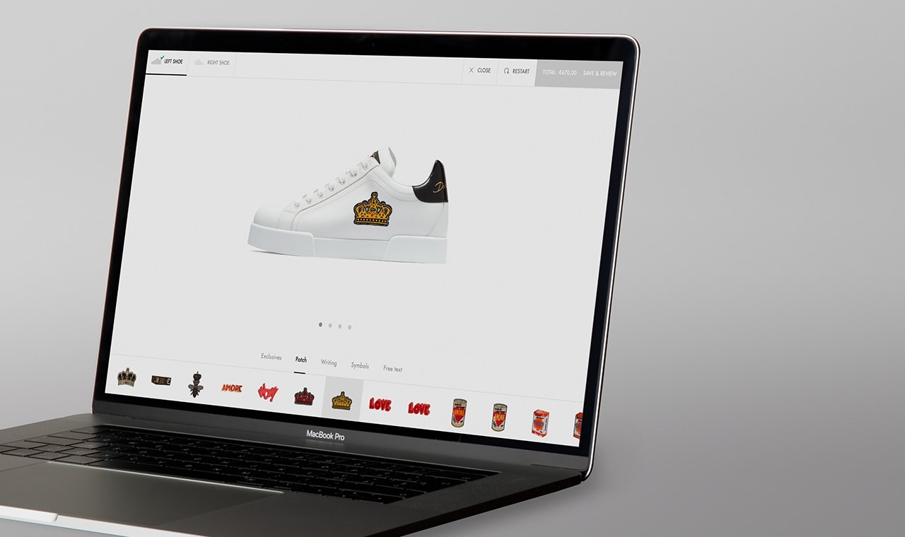 E-commerce Sneakers Customizer